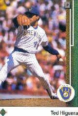 1989 Upper Deck 424 Ted Higuera