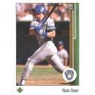 1989 Upper Deck 442 Rob Deer