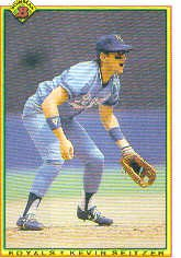 1990 Bowman 380 Kevin Seitzer