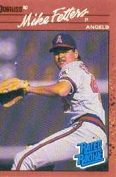1990 Donruss 35 Mike Fetters RR RC