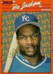 1990 Donruss Bonus MVP's #BC1 Bo Jackson