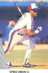 1990 Leaf 186 Spike Owen