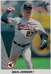 1990 Leaf 434 Dave Wayne Johnson RC