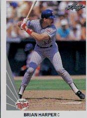 1990 Leaf 479 Brian Harper