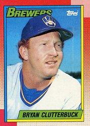 1990 Topps 264 Bryan Clutterbuck