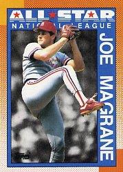 1990 Topps 406 Joe Magrane AS