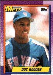 1990 Topps 510 Dwight Gooden