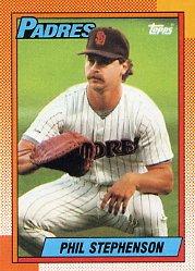 1990 Topps 584 Phil Stephenson