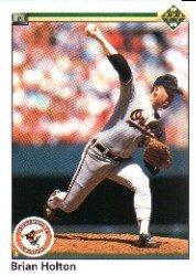 1990 Upper Deck 175 Brian Holton