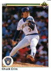 1990 Upper Deck 511 Chuck Crim