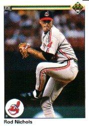 1990 Upper Deck 572 Rod Nichols