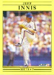 1991 Fleer Update #103 Jeff Innis