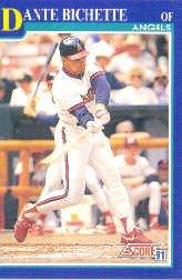 1991 Score 463 Dante Bichette