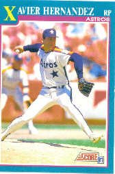 1991 Score 564 Xavier Hernandez