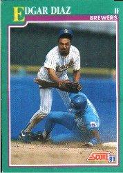 1991 Score 576 Eddie Diaz