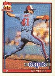 1991 Topps 462 Steve Frey