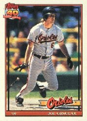 1991 Topps 521 Joe Orsulak