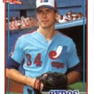1991 Topps 589 Scott Ruskin