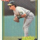 1991 Topps 686 Mike Gallego