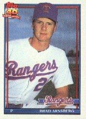 1991 Topps 706A Brad Arnsberg ERR