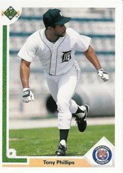 1991 Upper Deck 131 Tony Phillips
