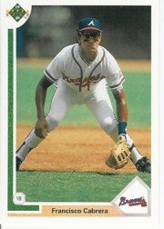 1991 Upper Deck 439 Francisco Cabrera