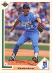 1991 Upper Deck 719 Mike Boddicker