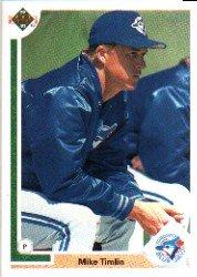 1991 Upper Deck 785 Mike Timlin RC