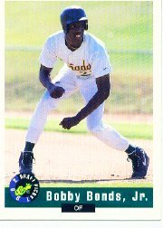 1992 Classic Draft Picks #84 Bobby Bonds Jr.