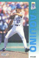 1992 Fleer 151 Luis Aquino