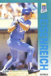 1992 Fleer 156 Jim Eisenreich