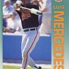 1992 Fleer 16 Luis Mercedes
