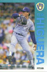 1992 Fleer 178 Ted Higuera