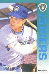 1992 Fleer 189 Bill Spiers