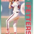 1992 Fleer 56 Mike Fetters