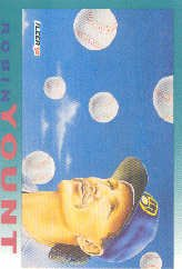 1992 Fleer 708 Robin Yount PV