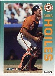 1992 Fleer 9 Chris Hoiles
