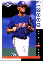 1998 Score #233 Jose Cruz Jr.