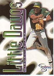1998 SkyBox Dugout Axcess #98 Miguel Tejada