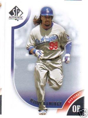 2009 SP Authentic 99 Manny Ramirez