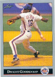 1992 Leaf #112 Dwight Gooden