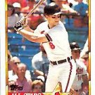 1990 Topps Ames All Stars #15 Cal Ripken Jr