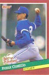 1991 Donruss Rookies #20 Frank Castillo RC