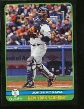 2009 O-Pee-Chee Black #481 Jorge Posada