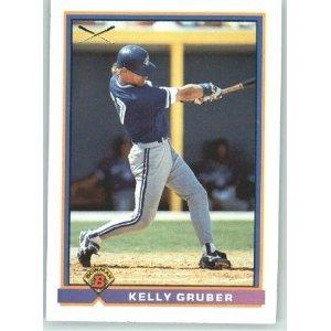 1991 Bowman 369 Kelly Gruber SLUG