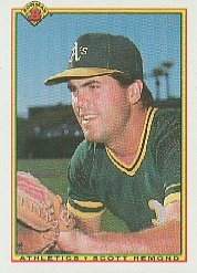 1990 Bowman 453 Scott Hemond RC
