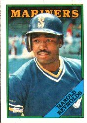 1988 Topps 485 Harold Reynolds