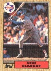 1987 Topps 308 Don Slaught