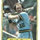 1982 Fleer 150 Charlie Moore