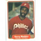 1982 Fleer 248 Garry Maddox